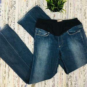 PAIGE MATERNITY Laurel Canyon Boot Cut Jeans 30x31